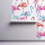 Fototapet-Flamingo-All-Over