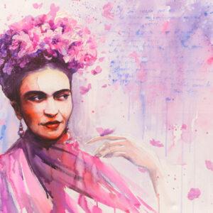 Fototapet-Frida-Kahlo