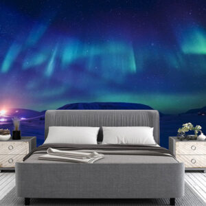 fototapet-magic-aurora-borealis
