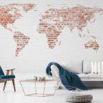 Fototapet World Map - Fototapet Harta Lumii