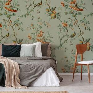 fototapet-floral-vintage