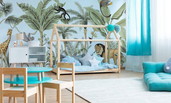 fototapet-pentru-copii-Jungle-Story