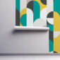 Fototapet-abstract-geometric-shapes