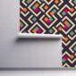 Fototapet-geometric-abstract-rhombus