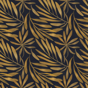 Fototapet-Art-Deco-Floral-Pattern-1