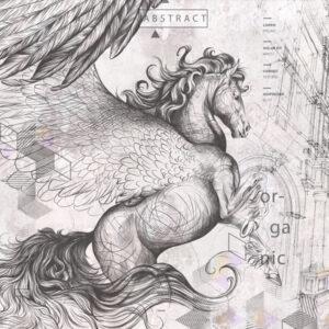 Fototapet-Pegasus-Artwork