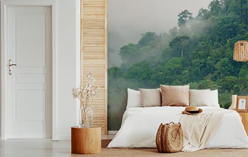 Fototapet-pentru-dormitor-misty-forest